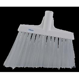 Щетка для подметания с ворсом под углом, 290 мм, Очень жесткий, белый цвет